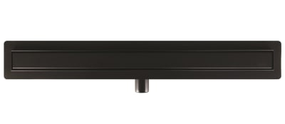 Aco C colours showerdrain c goot 6,5x78,5 m/flens, signaal zwart