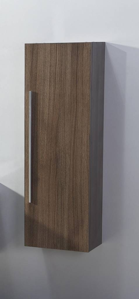 Aqua Royal Half Hoge Kolomkast 40X25X120 cm Grey Oak - Grey Oak