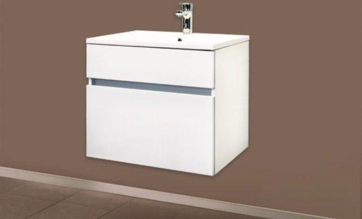 Badstuber Stella badkamermeubel 60cm hoogglans wit