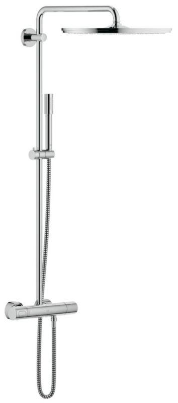 GROHE Rainshower 400 Systeem douchesysteem met thermostatische mengkraan, chroom