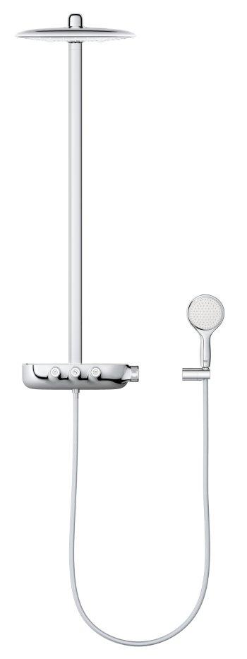 GROHE Rainshower SmartControl 360 Duo douchesysteem met thermostatische kraan, chroom