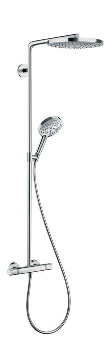 Hansgrohe Raindance Select S showerpipe 240 2jet met thermostaat, chroom