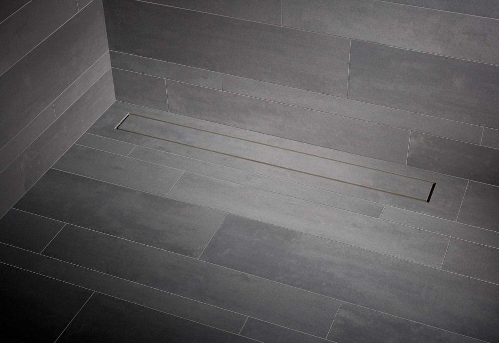 Mueller Tiles tegel douchegoot met flens 80x7cm