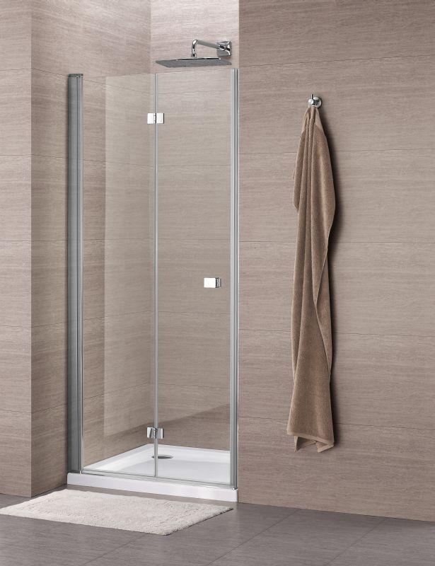 Sub 065 vouwdeur 90x195 cm, chroom-helder clean