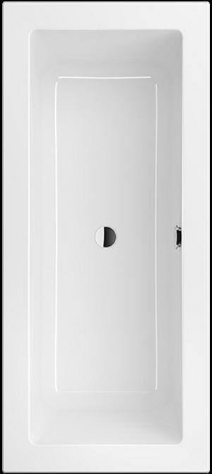 Villeroy & Boch Legato duobad rechthoek 170x75 cm, wit alpin