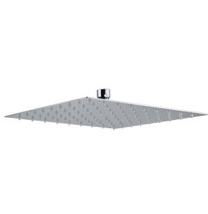 Plieger Napoli hoofddouche vierkant 25cm chroom