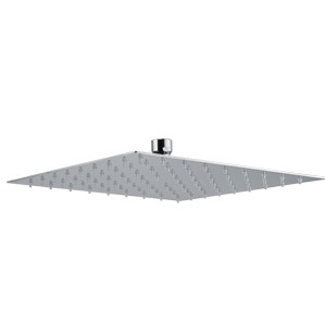 Plieger Napoli hoofddouche vierkant 30cm chroom