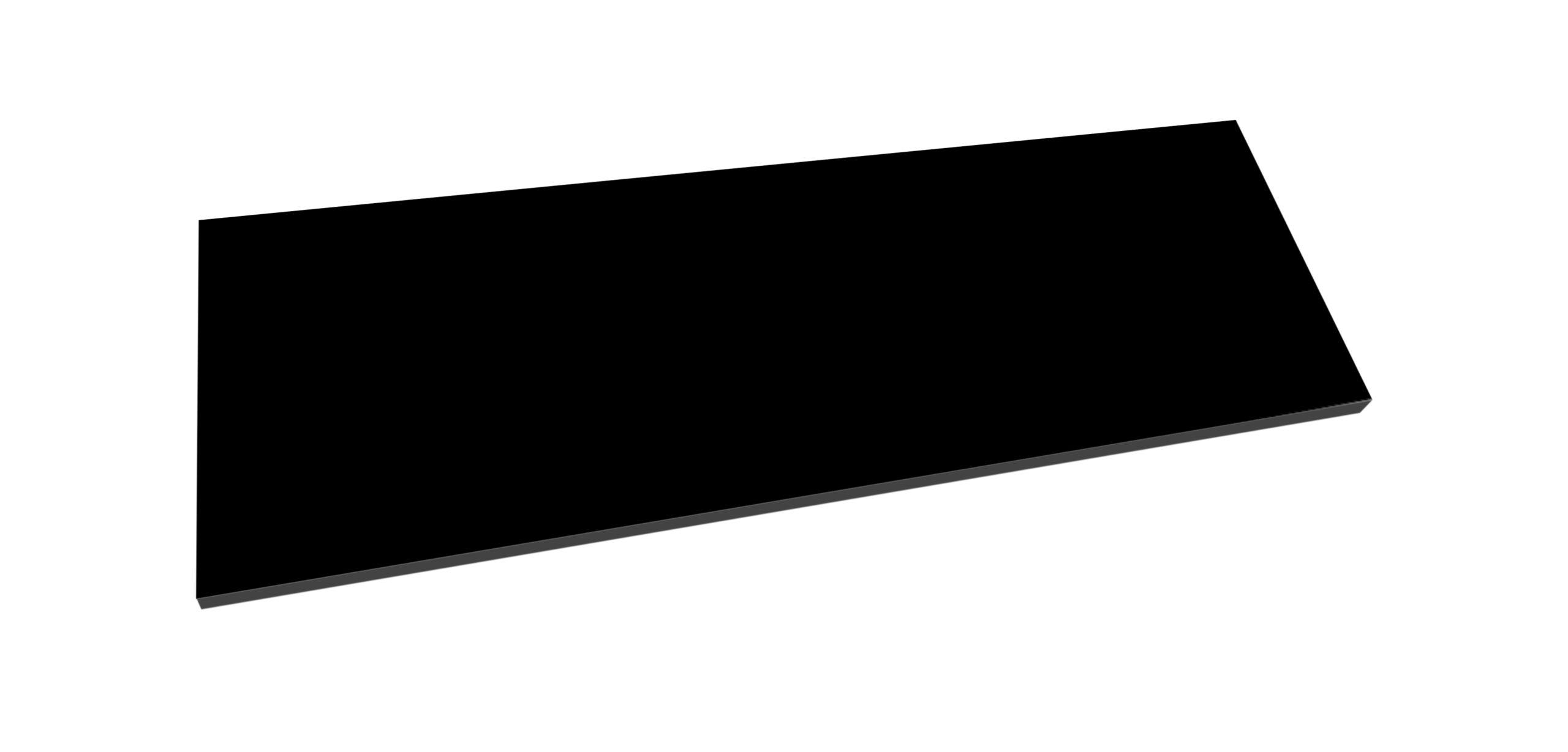 Best Design Beauty meubelblad 100cm mat zwart