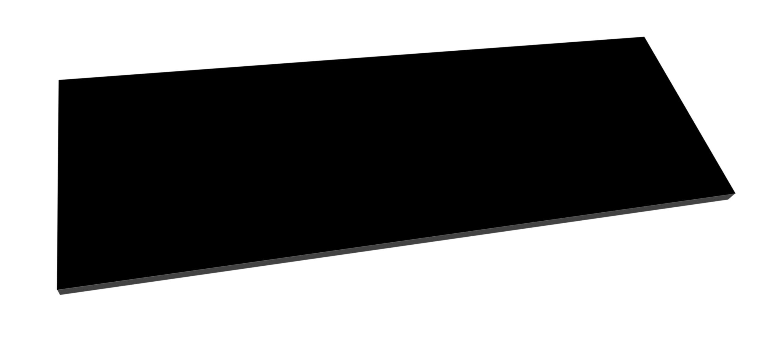 Best Design Beauty meubelblad 120cm mat zwart