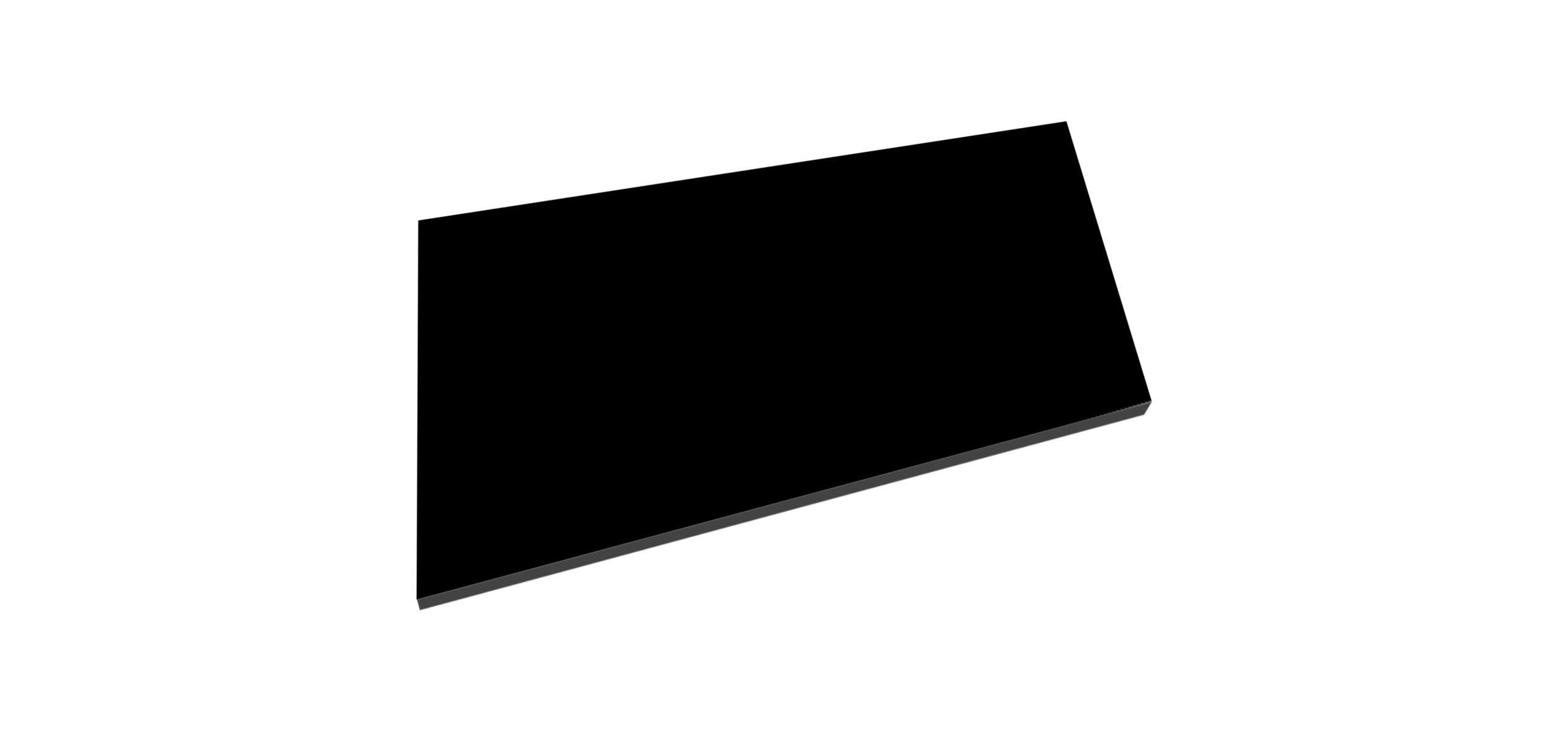Best Design Beauty meubelblad 60cm mat zwart